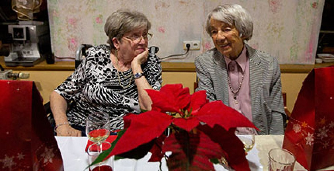 The Christmas Eve at Sue Ryder was not filled with presents. Rather, it was filled with kindness, care, respect, and understanding of the Sue Ryder team of carers towards those who cannot get through this day on their own.
